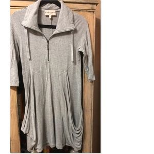 Philosophy grey dress